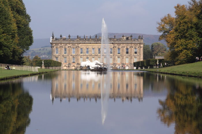Chatsworth House: If anything would soften the blow of a loveless marriage at 17, this would.