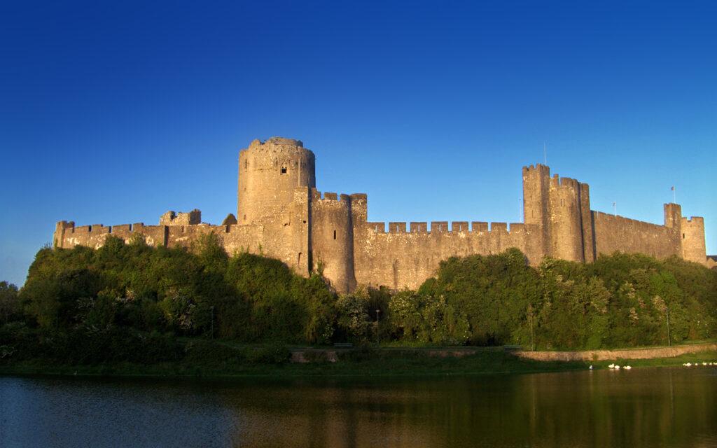 Pembroke Castle, where Margaret gave birth to her precious son.