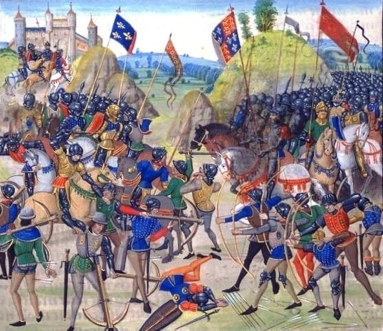 The Battle of Crecy.