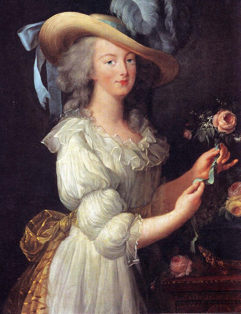Marie Antoinette, one of Georgiana's best friends.